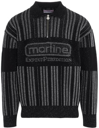 Martine Rose Half Zip Sweater