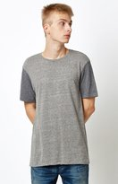 On The Byas Raglan Charcoal T-Shirt