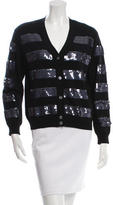 Marc Jacobs Sequined V-Neck Cardigan
