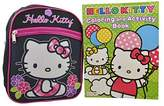 """SANRIO Hello Kitty 2 Pieces Gift Set 10"""" Mini Backpack with Coloring Book"""