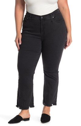 Madewell Cali Demi-Boot Cut Jeans (Plus Size)