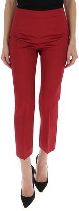 Max Mara Slim-Fit Cropped Trousers