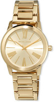 MICHAEL Michael Kors 38mm Hartman Bracelet Watch, Gold