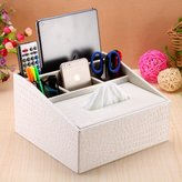 ZIJIN Multi-functional Tissue Box/Pumpin Carton/Remote Control Storae Box/ Storae Box