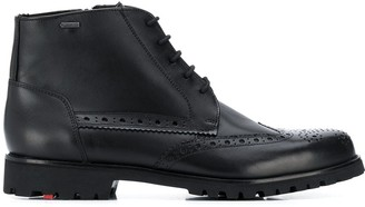 Lloyd perforated ankle boots
