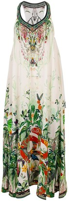 Camilla Daintree Darling Print V-Neck Racerback Dress