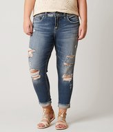 Silver Suki Skinny Cropped Jean - Plus Size Only