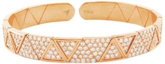 Alessa Rose Gold And Diamond Elixir Bracelet
