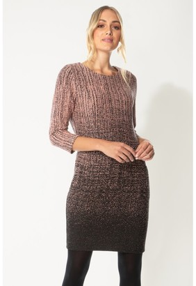 M&Co Roman Originals ombre textured shift dress