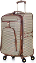 "London Fog Cambridge 21"" Carry On Spinner Suitcase"
