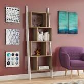 Bronx Ivy Canchola Leaning Ladder Bookcase Ivy