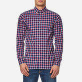 Tommy Hilfiger Lance Check Long Sleeve Shirt Dutch Navy/sundried Tomato