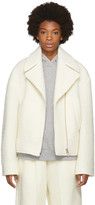 MM6 MAISON MARGIELA Ivory Casentino Jacket