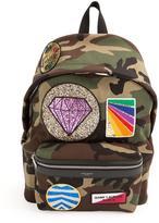 Saint Laurent 'City' multi-patch backpack