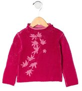 Kenzo Girls' Floral Sweater