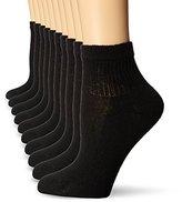 Hanes Women's Ankle Sock (Pack of 10)