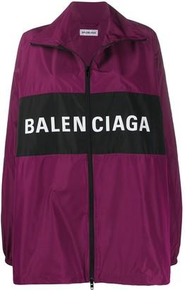 Balenciaga zipped lightweight jacket