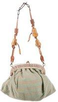 Marni Grid Knit Shoulder Bag