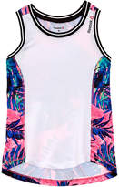 Reebok Girls' White Pep Squad Tank