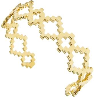Jewel Tree London Baori Signature Cuff Bracelet