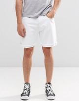 Levis Levi's 501 Ct Denim Shorts White Light