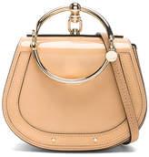 Chloé Small Nile Glossy Lambskin, Calfskin & Suede Bracelet Bag