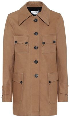 Victoria Beckham Saharan cotton jacket