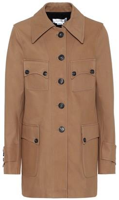 Victoria Beckham Saharan cotton jacket