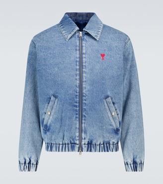 AMI Paris Ami de Coeur zipped jacket
