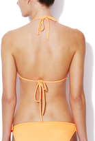 Shoshanna Bow Front Halter Bikini Top