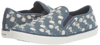 Geox Kids Kilwi 77 (Big Kid) (Medium Blue) Girl's Shoes
