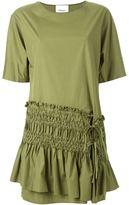 3.1 Phillip Lim ruched panel shift dress - women - Cotton - 6