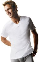Hanes Men's Big-tall Tagless Comfortsoft V-neck Undershirt 3-pack