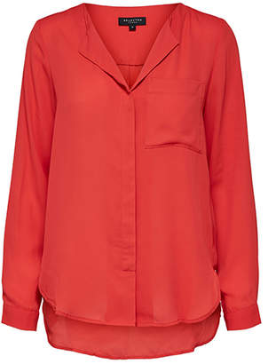 Selected Red Slfdynella Blouse - 34 - Red