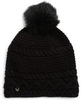 UGG Shearling Pom Pom Knit Hat