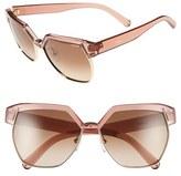 Chloé 'Dafne ' 60mm Gradient Sunglasses