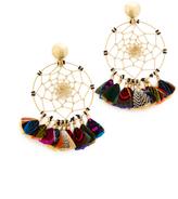 GAS Bijoux Attrape Reve Plumes Earrings