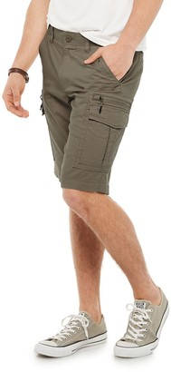 Urban Pipeline Men's Ultraflex Stretch Ripstop Cargo Shorts