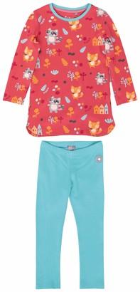 Sigikid Girls Mini-Madchen Pyjama 2-teilig aus Bio-Baumwolle Groe 086-128 Pajama Set
