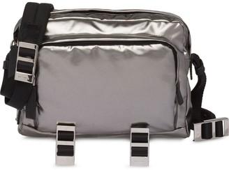 Prada Technical fabric messenger bag