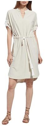 Lysse Saffron Dress in Stretch Crepe (Biscotti) Women's Dress