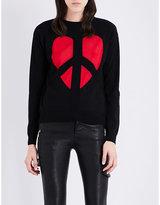 Love Moschino Broken heart knitted jumper
