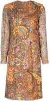 Ken Scott Vintage Paisley dress