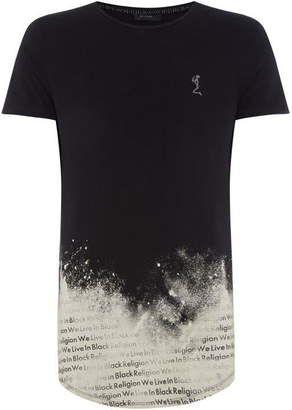 Religion Paint Dipped Crew Neck T-Shirt