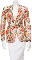 Stella McCartney Floral Brocade Blazer