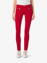 Michael Kors Skinny Stretch-Twill Jeans Petites