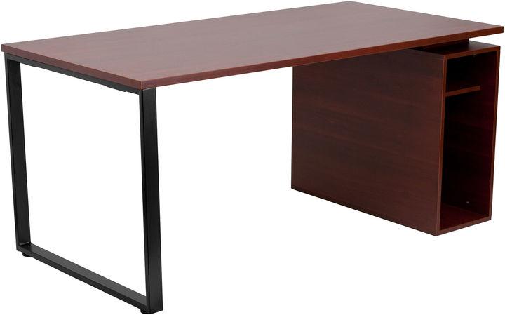 Asstd National Brand Mahagony Computer Desk