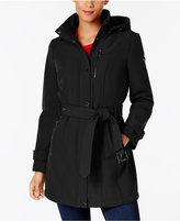 MICHAEL Michael Kors Hooded Softshell Raincoat