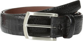Torino Leather Co. 35mm Italian Gator Calf w/ Satin Nickel Buckle