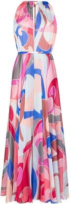 Emilio Pucci Quirimbas silk maxi dress